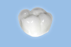 Zirconia crown