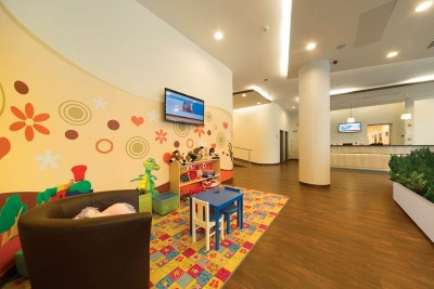 Kids' play corner MDental Clinic Hungary