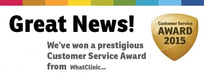 MDental Received Award for Excellent Customer Service from WhatClinic.com