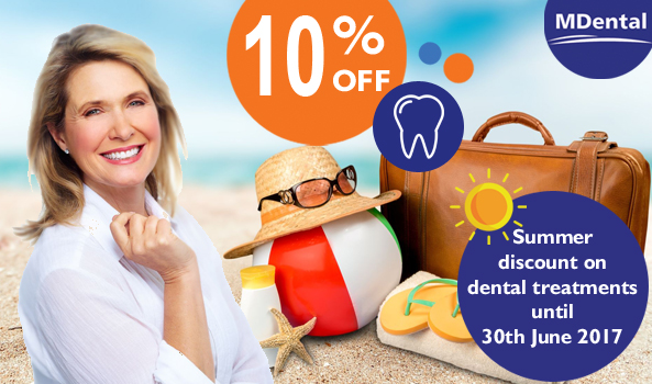 MDental Clinic Hungary_10%-summer-discount-june