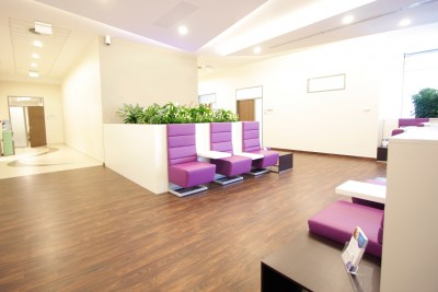 Waiting room MDental Clinic Hungary