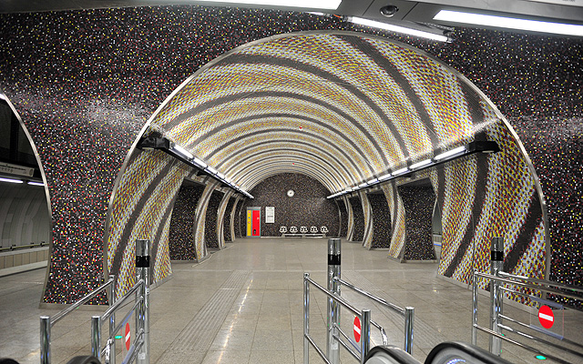 Metro stations in Budapest won ArchDaily's Building Award of the year