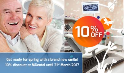 Get ready for spring with a brand new smile!